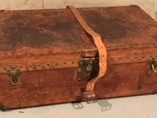 louis Vuitton Vintage leather Trunk