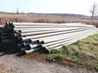 105 AMES 5 x30  IRRIGATION PIPE