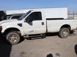 2009 FORD F250 4WD PICK UP TRUCK