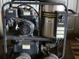 K ARCHER HOT WATER POWER WASHER   AS IS