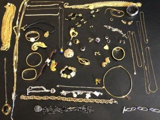 Gold Color Costume Jewelry