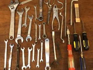 Wrenches  Pliers and Screwdrivers