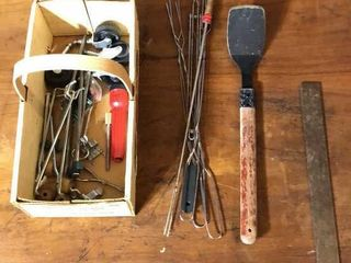 Measuring Square  Skewers  Tent Stakes etc