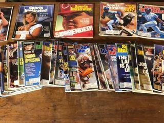 30  Sports Illustrated Magazines