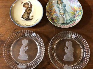 4  Collectors Plates