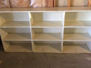 large White Shelf