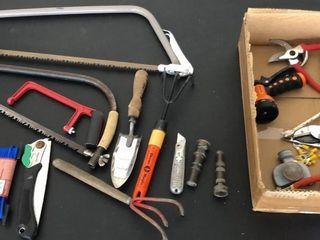 Gardening Tools  Saws  Snips