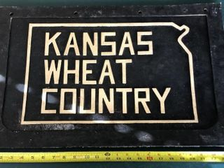 Kansas Wheat Country Mud Flap