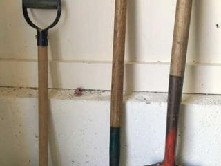 Pitch Fork  Spade and Shovel