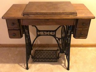 Singer Sewing Machine Cabinet
