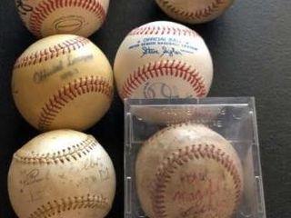11  Baseballs