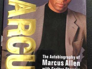 Autographed Marcus Allen Autobiography