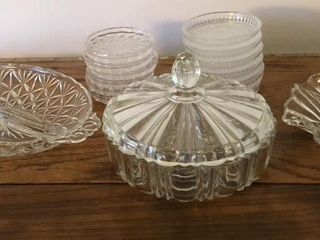 Glass Dishes  Bowls  And Coasters