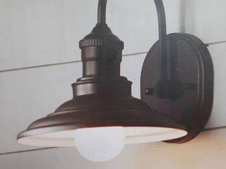 Hainsbrook 1 light Bronze Vanity light