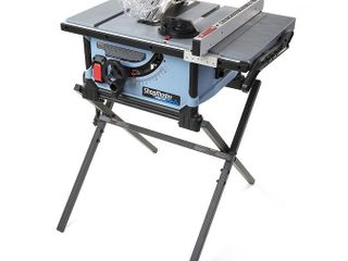 DElTA ShopMaster 10 in Carbide tipped Blade 15 Amp Portable Table Saw
