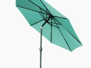 10ft Teal Umbrella