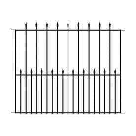 No Dig Steel Fence Panel
