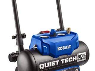 Kobalt Quiet Tech Air Compressor 4 3 gallon