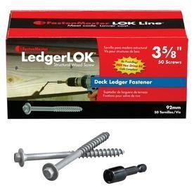 FastenMaster ledgerlOK ledger Board Fastener  3 5 8 Inches