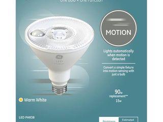 GE lED  Motion Sensing Warm White 90 Watt Replacement PAR38 Floodlight