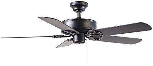 Harbor Breeze 52 in Classic Black Ceiling Fan 3 Speed Reversible Motor