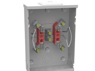 Milbank 125 Amp Ringless Single Phase  120 240  Meter Socket
