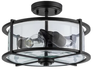 Incandescent Semi flush Mount light