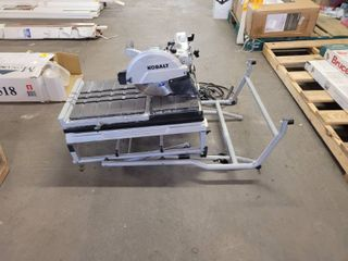 KOBAlT WET AND DRY TIlE SAW