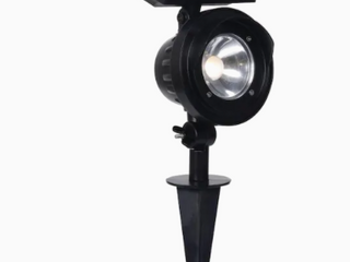 Portfolio landscape Black Finish 120 lumens Solar lED Spotlight