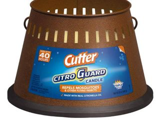 Cutter Citro Guard Citronella Candle  Triple Wick  20 oz