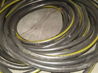 Black And Yellow Garden Hose