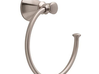 Delta Val46 sn Valdosta Bath Towel Ring Brushed Nickel Finish Spotshield