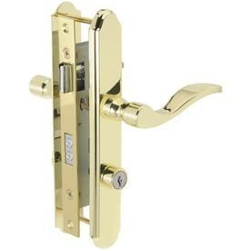 Wright Products VMT115PB Accents Serenade Mortise lockset  Polished Brass