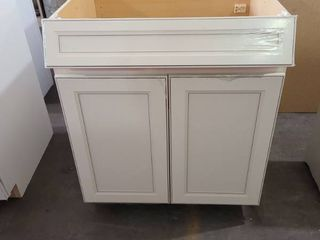 OFF WHITE KITCHEN CABINET