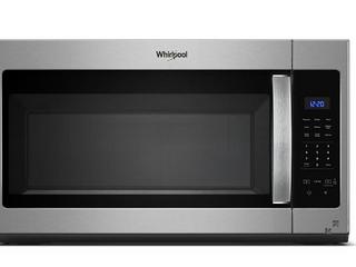 Whirlpool 1 7 CU FT Microwave Hood