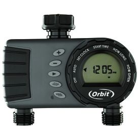 Orbit 2 Outlet Digital Water Timer