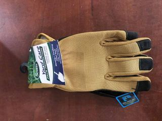 Scotts Sc86111 l Work Gloves w  Touchscrn  Yard med Duty Reinforced Palm  large