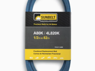 Sunbelt Precision Belts For All Makes Model   lA80K 1 2in x 82in