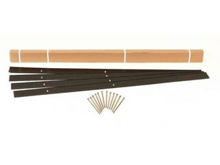 EasyFlex Aluminum landscape Edging Kit   24 ft  Black  23428863