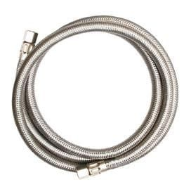 EASTMAN 20 ft 1 800 PSI Stainless Steel Ice Maker Connector