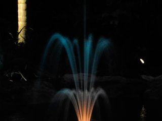 Color Changing Floating Fountain With Pump