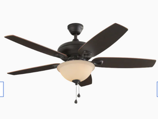 Harbor Breeze Coastal Creek 52 in Bronze led Indoor Ceiling Fan