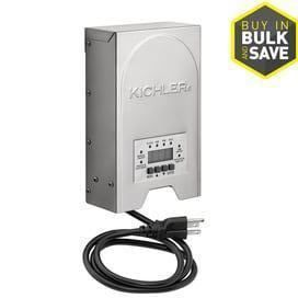 Kichler 200 Watt 120 Volt Multi Tap landscape lighting Transformer with with Digital Timer