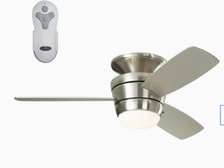 Harbor Breeze 44  Mazon Brushed Nickel Finish Celling Fan