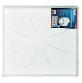 Camco Manufacturing Washing Machine Pan 30 in x 32 in Standard  White