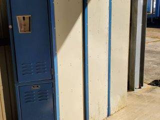 5  Single lockers