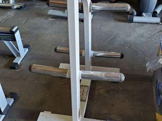 Hammer Strength Plate Holder