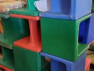 Pallet Of Childrens Plastic Floor Chairs