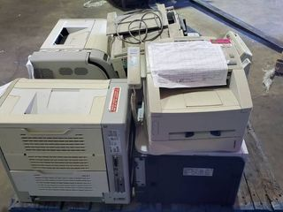Pallet Of Scanner Fax Machines