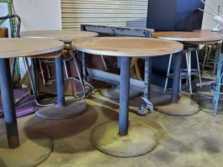 6  42in Bar Height Tables